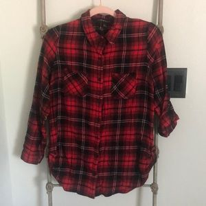 Woman's Flannel Button Down